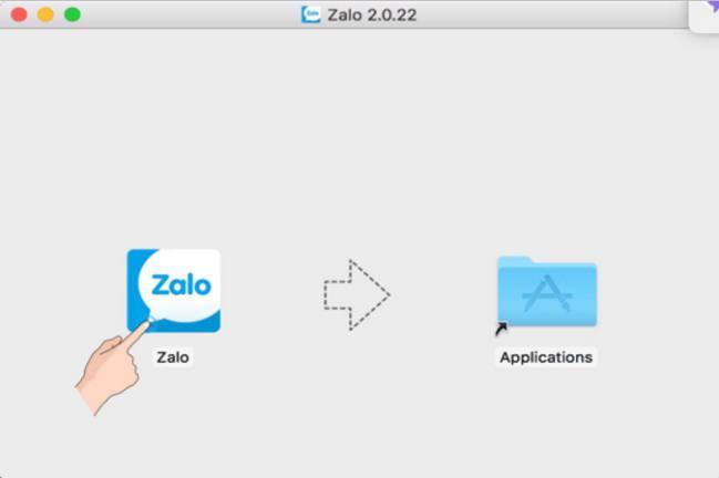 Cách cài đặt ứng dụng Zalo cho máy tính Macbook 3