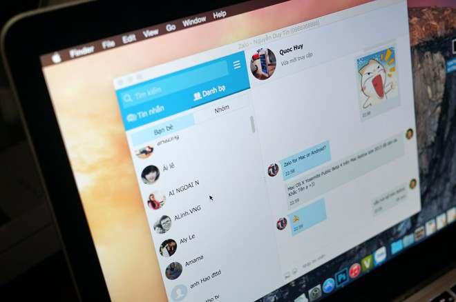 Cách cài đặt ứng dụng Zalo cho máy tính Macbook 8