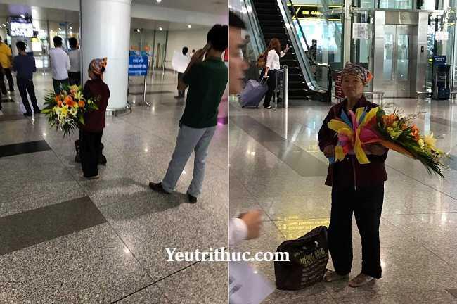 Cảm động người mẹ già từ quê lên đón con gái đi lao động Đài Loan về 2
