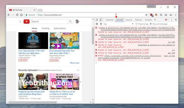 Cách kích hoạt tính năng Dark Mode trên Youtube nền Web 3