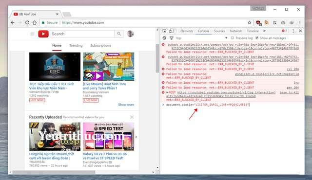 Cách kích hoạt tính năng Dark Mode trên Youtube nền Web 4