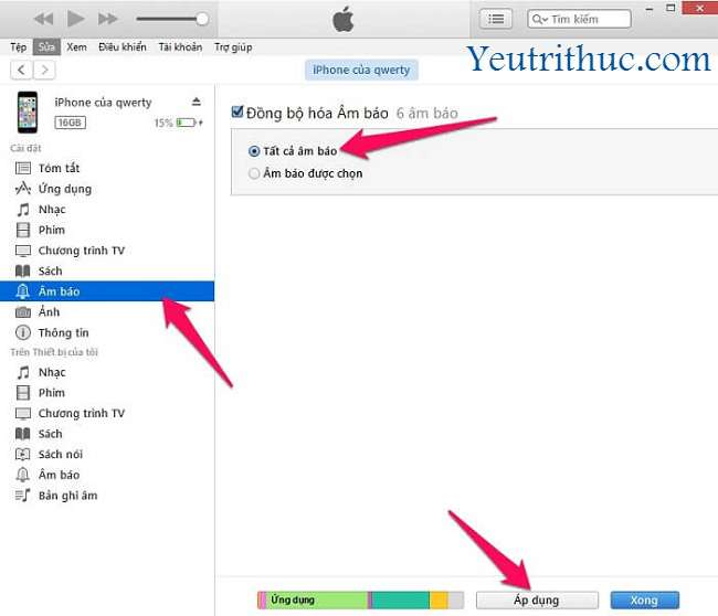 Cách sử dụng công cụ Zedge để cài nhạc chuông cho iPhone 8