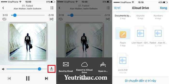 Cách sử dụng GarageBand và Documents cài nhạc chuông cho iPhone miễn phí 3