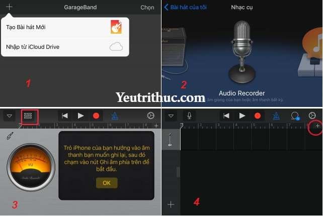 Cách sử dụng GarageBand và Documents cài nhạc chuông cho iPhone miễn phí 4