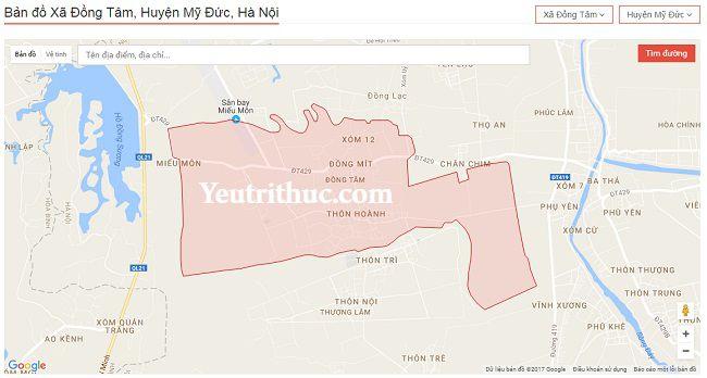 Giới thiệu về xã Đồng Tâm, huyện Mỹ Đức, Hà Nội 4