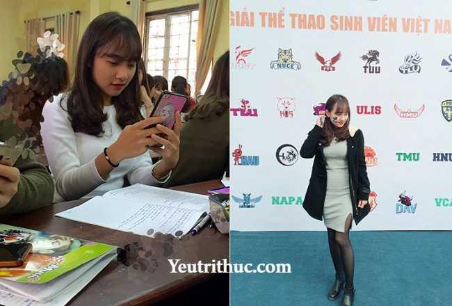 Hotgirl Hà Pansy – nữ bảo vệ siêu thị Lotte Hà Nội gây sốt vì bị chụp lén 12