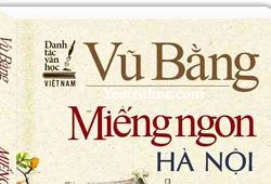 Vì sao sách Miếng Ngon Hà Nội bị thu hồi 2