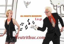 All Rights Reserved là gì – Nghĩa của từ All Rights Reserved dịch là gì 2