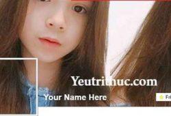 Cách làm ảnh đại diện avatar ăn khớp với ảnh bìa timeline Facebook