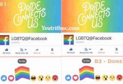 """Cách Thả Cờ trên Facebook - biểu tượng LBGT """"Tự Hào"""" màu sắc cầu vồng 2"""