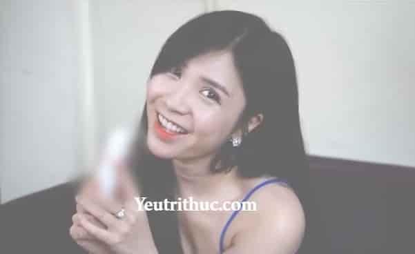 Hotgirl Thanh Bi đóng quảng cáo gì 2