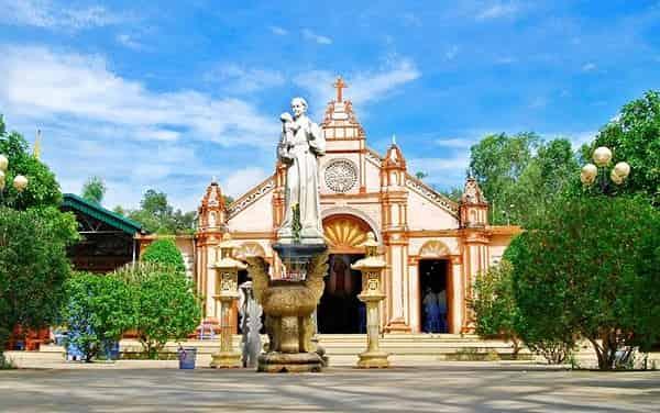 Lịch giờ lễ Thánh An Tôn 12-13/6/2017 tại Trại Gáo Mỹ Yên, Nghi Phương