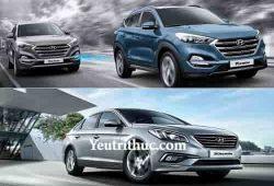 Bảng giá xe ô tô Hyundai tháng 7 năm 2017