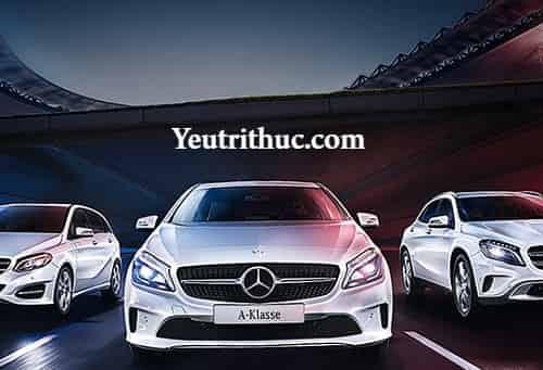 Bảng giá xe ô tô Mercedes Benz tháng 7 năm 2017 chính hãng