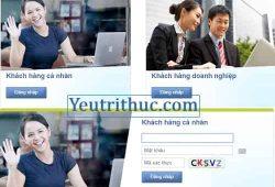 Cách đăng nhập tài khoản ngân hàng ACB Online dùng Internet Banking