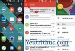 Hướng dẫn cách đăng nhập vào Gmail trên điện thoại Android 1