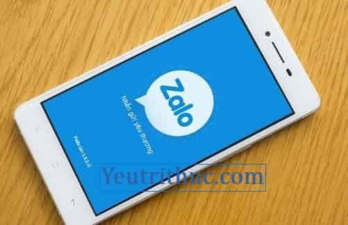 Cách đăng nhập Zalo trên điện thoại, Login vào Zalo Smartphone
