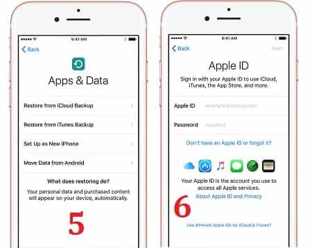 9 Cách thiết lập cài đặt iPhone, iPad và iPod Touch mới bắt đầu 4