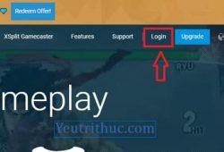 Hướng dẫn cách tạo, đăng ký tài khoản XSplit Broadcaster để streaming 1