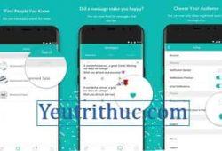 Cách đăng ký tạo tài khoản Sarahah trên Android, iOS và nền web 1
