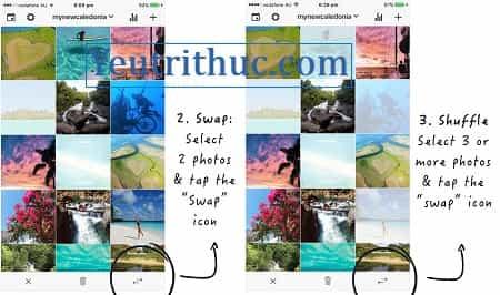 Cách sắp xếp, tổ chức lại hình ảnh trên Instagram thành bộ sưu tập 3