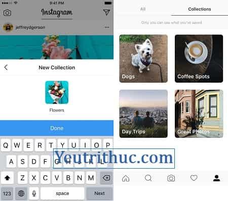 Cách sắp xếp, tổ chức lại hình ảnh trên Instagram thành bộ sưu tập 2