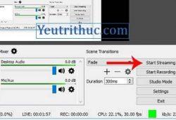 Tải, cài đặt và cách sử dụng phần mềm OBS Studio quay video 7