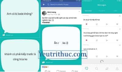 Hướng dẫn cách sử dụng Sarahah để gửi tin nhắn ẩn danh trên iOS, Android, Web 5