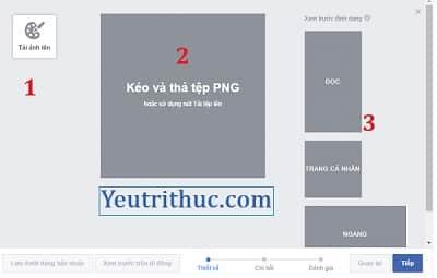 Hướng dẫn cách tạo khung ảnh đại diện Avatar trên Facebook file .PNG 3