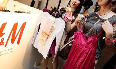 hãng thời trang H&M bán lẻ quần áo Thụy Điển 2