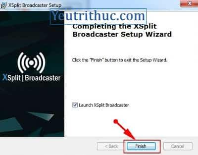 Hướng dẫn cách tải và cài đặt phần mềm Xsplit Broadcaster và Gamecaster 11