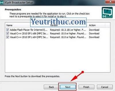 Hướng dẫn cách tải và cài đặt phần mềm Xsplit Broadcaster và Gamecaster 4