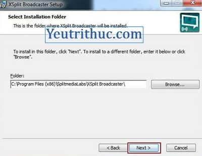 Hướng dẫn cách tải và cài đặt phần mềm Xsplit Broadcaster và Gamecaster 7