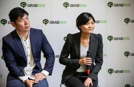 2 nhà đồng sáng lập GrabTaxi là Anthony Tan và Tan Hooi Ling