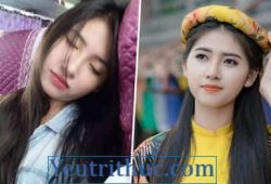 Hot Girl ngủ gật trên xe khách Phạm Hoàng Thu Uyên là Miss Teen 2017