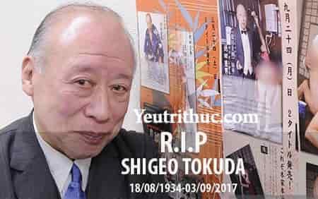 Shigeo Tokuda là ai, tiểu sử diễn viên Shigeo Tokuda vừa qua đời