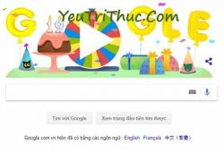 Vòng xoay bất ngờ cho sinh nhật Google Chrome và Map là gì 1