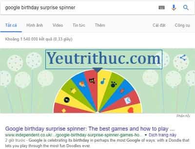 Vòng xoay bất ngờ cho sinh nhật Google Chrome và Map là gì 3