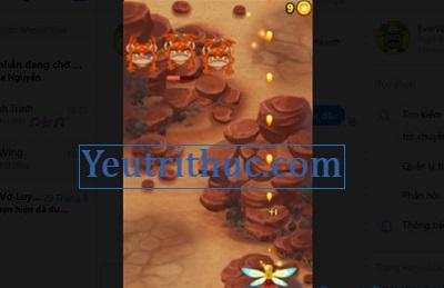 Cách chơi Game EverWing trên Facebook Messenger 7