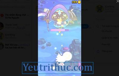 Cách chơi Game EverWing trên Facebook Messenger 8