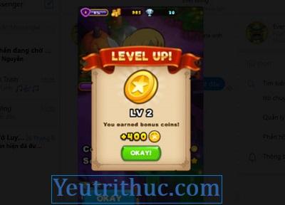 Cách chơi Game EverWing trên Facebook Messenger 9