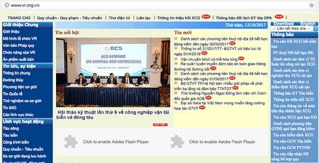 Cách tra cứu phạt nguội trên trang web Cục Đăng Kiểm Việt Nam 1
