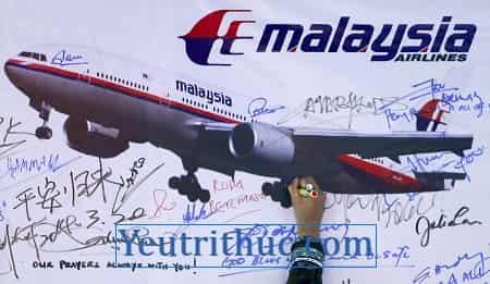 Máy bay MH370 trở về sau 4 năm mất tích tại Osaka Nhật Bản là tin giả