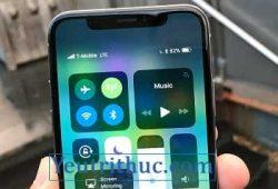 Cách kiểm tra xem phần trăm dung lượng pin trên iPhone X 1