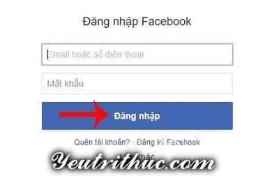 Hướng dẫn cách đăng nhập Zalo bằng Facebook 2