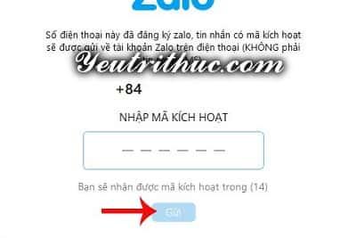 Hướng dẫn cách đăng nhập Zalo bằng Facebook 6