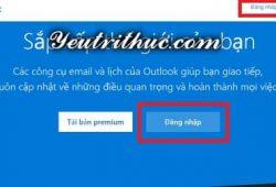 Cách đăng nhập tài khoản Outlook để vào email Microsoft 1