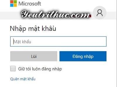 Cách đăng nhập tài khoản Outlook để vào email Microsoft 3
