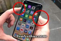 Cách tắt nguồn iPhone X, hướng dẫn reset khởi động lại iPhone X 1