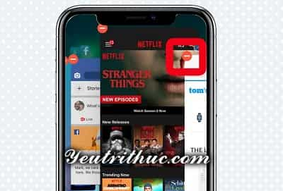 Cách tắt, đóng ứng dụng trên iPhone X khi không còn phím Home 4